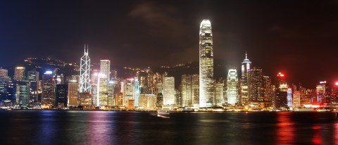 From Kowloon. May, 2013