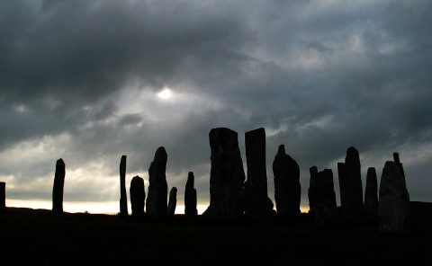 Callanish Stones, Isle of Lewis, Scotland. July, 2006