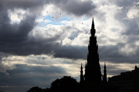 Scott Monument, Edinburgh, Scotland. September 2013