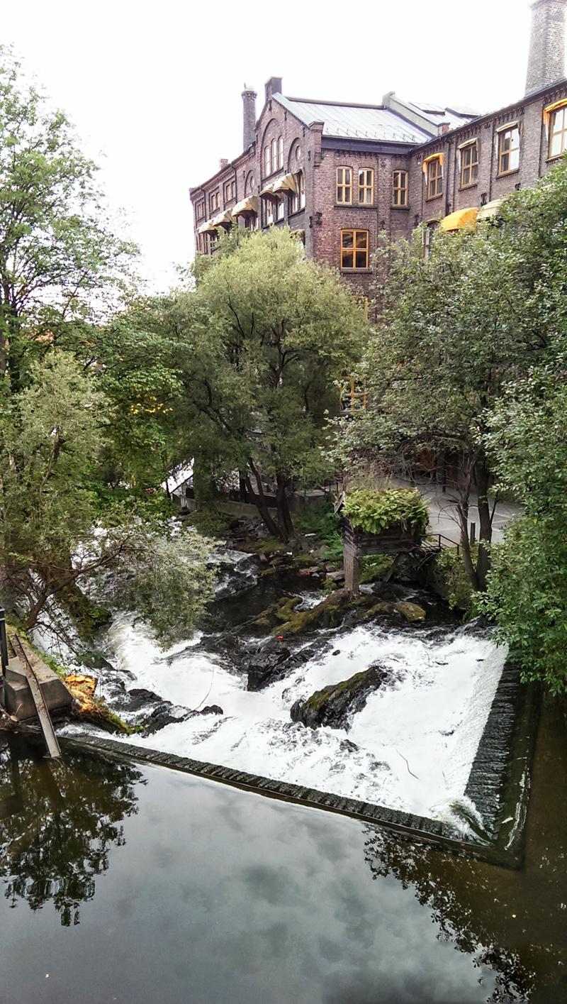 Oslo waterfall