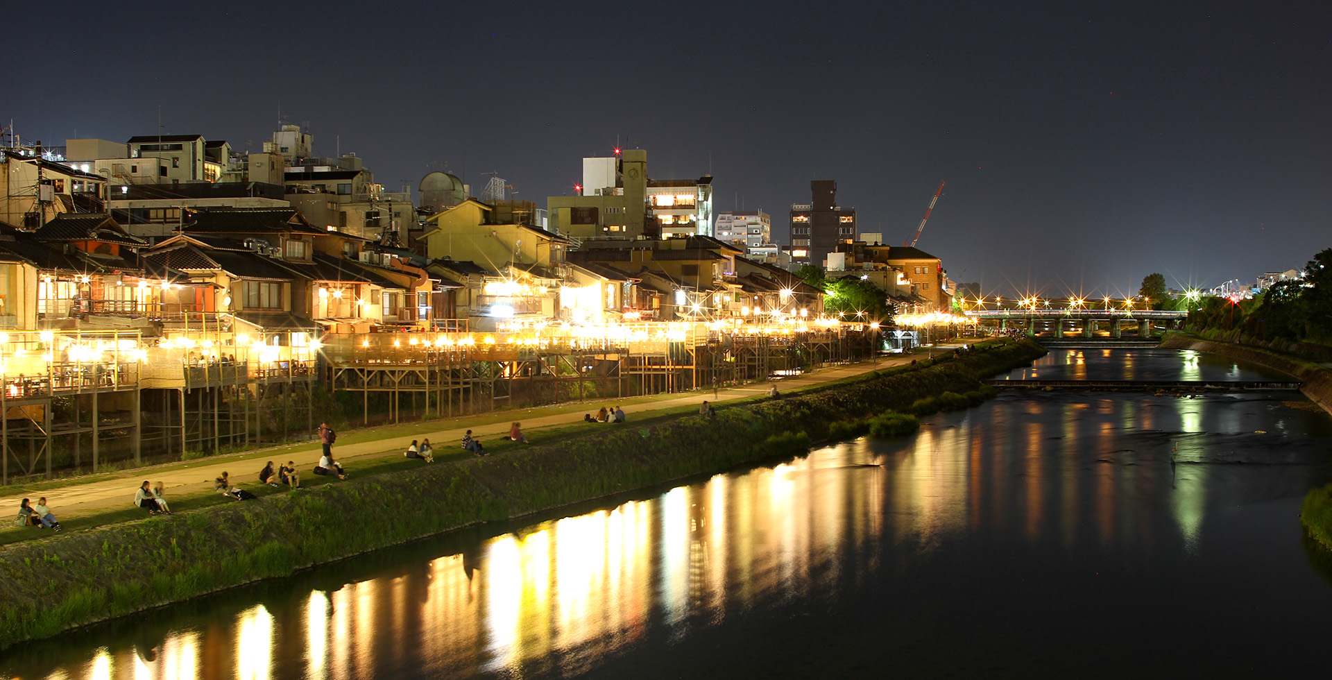 Kyoto by the river